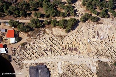Zippori excavation