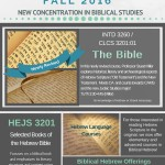 Biblical Concentration flyer