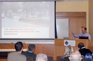 Jeremy Pressman Jersualem Light Rail Lecture