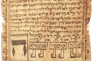 Hebrew incantation