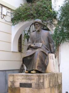 Moses Maimonides monument, Cordoba