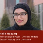 Congrats to Naila Razzaq for her CLAS awards and recognition!