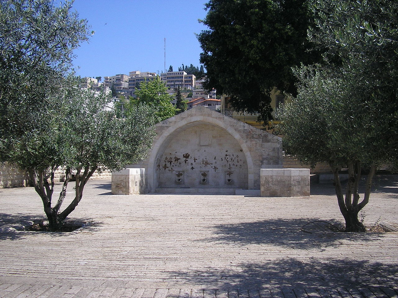 St. Mary's Spring in Nazareth