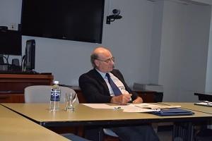 Professor Kosmin at colloquium