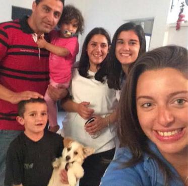 Druze host family