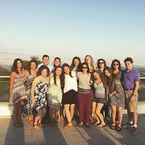 Negev Service Corps groups Shabbat in Tel Hai