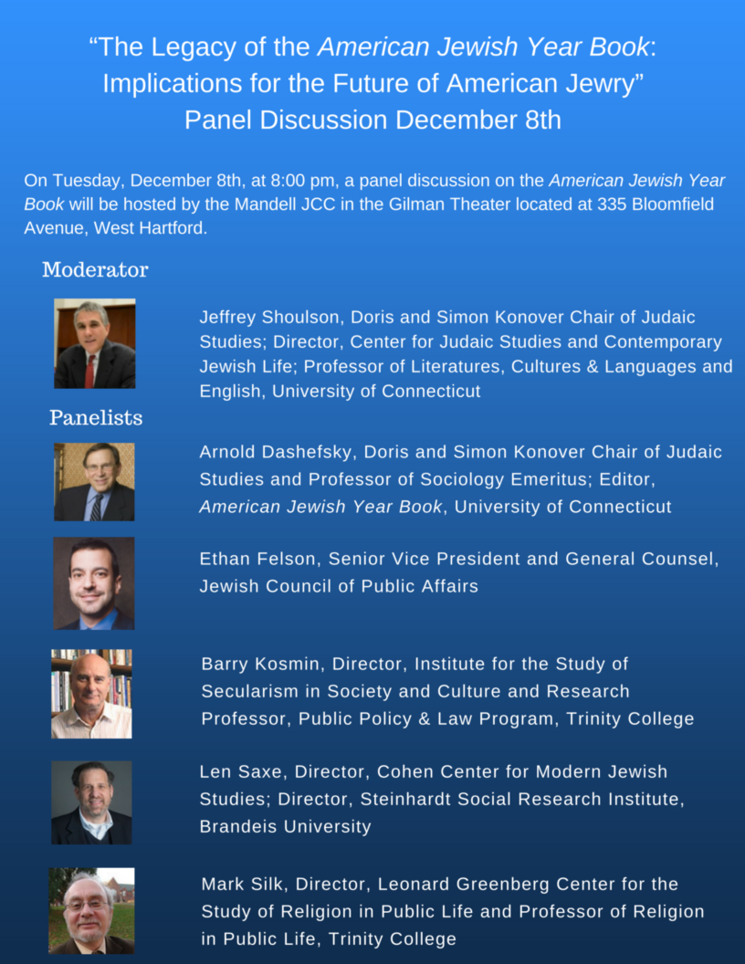 AJYB panel discussion flyer