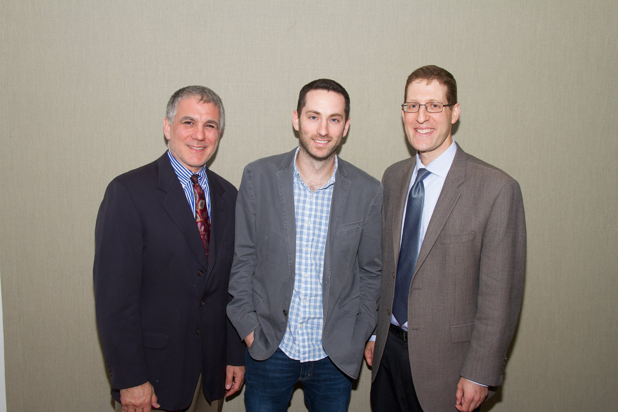 Center Director, Professor Jeffrey Shoulson, Professor Josh Lambert, and Professor Avinoam Patt of the University of Hartford