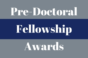 predoctoral fellowship awards