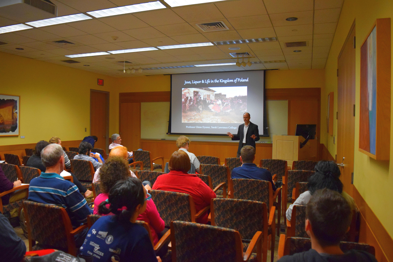 Glenn Dynner colloquium