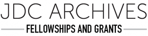 jdc-archives-fellowships