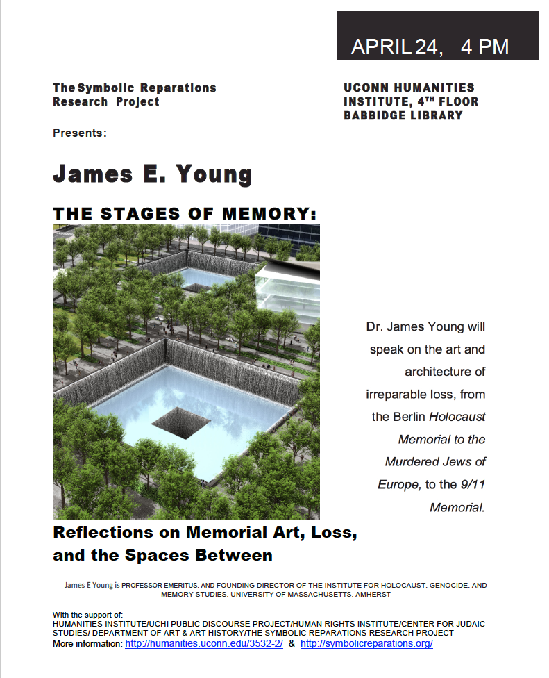UCHI Poster for James E. Young lecture