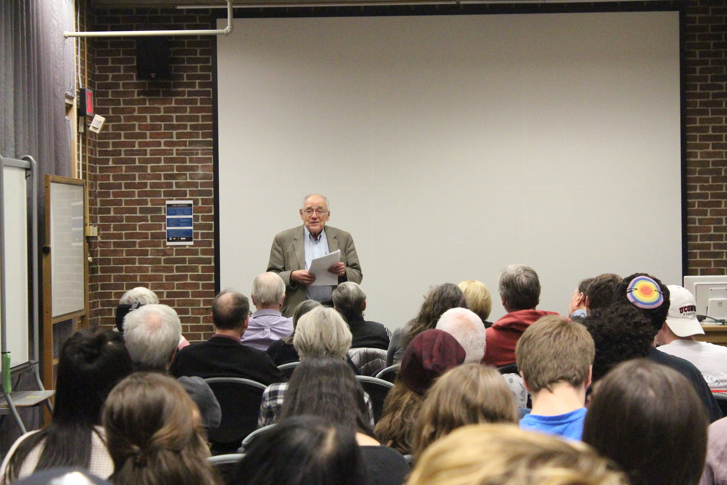 11-8-17 Denial screening Hans Laufer photo credit Ryan Murace The Daily Campus