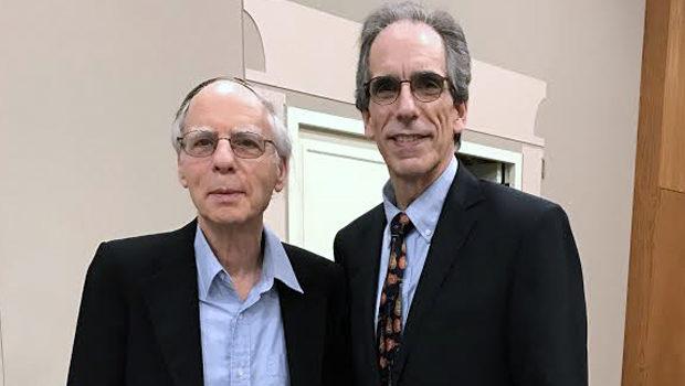 Dr. Jeff Kaimowitz with Stuart Miller