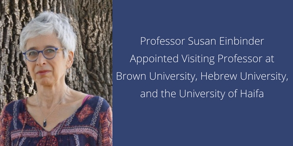 Susan Einbinder Faculty News