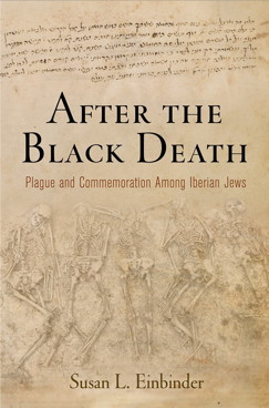After the Black Death Book Cover Susan Einbinder