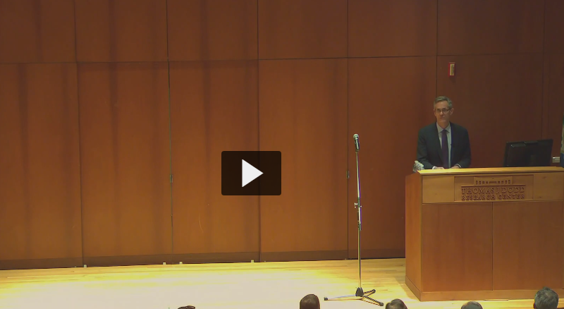 David Myers lecture 5-2-2019