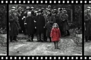 Girl in red coat from Schindler's List