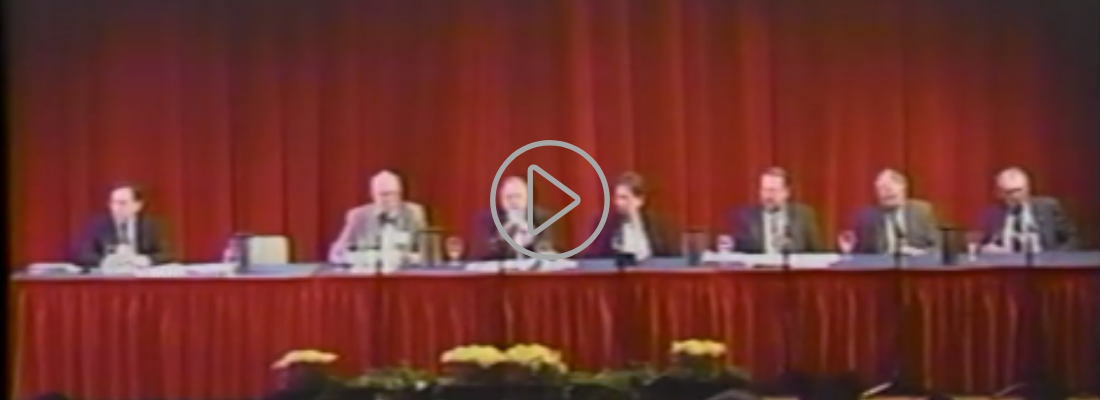 video on 1995 panel on Holocaust