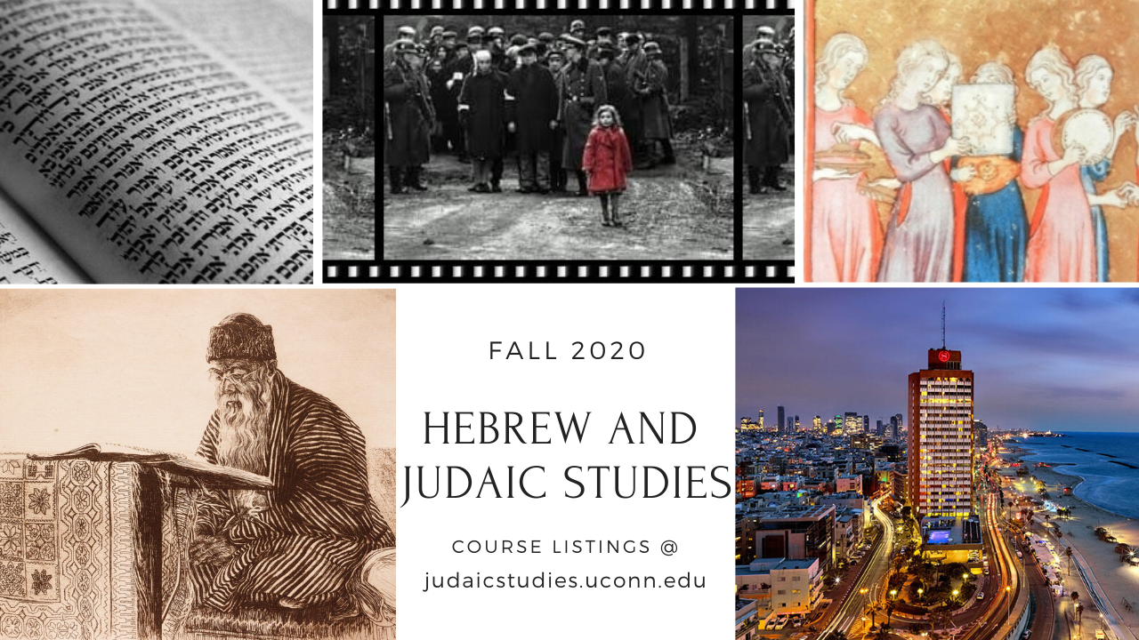 Hebrew and Judaic Studies Degrees at UConn