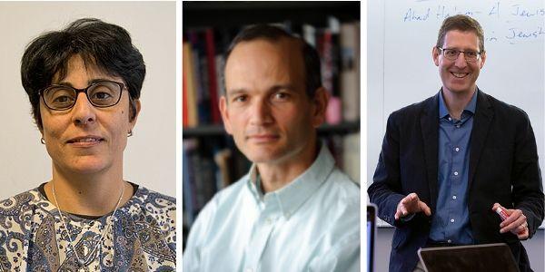 Profs. Maha Darwasha, Jeremy Pressman, and Avinoam Patt