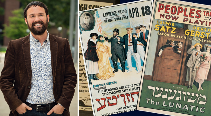 Nick Underwood; Yiddish Theater Posters